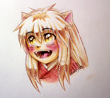 Happy Baby Inuyasha by nor-renee