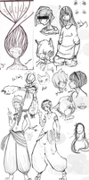 Crappy Sketch Dump Thing I Think by Casour