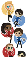 Trek chibis by phillipant
