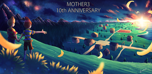 MOTHER3 10th Anniversary by Lopuii