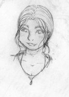 Free Sketch 1: Nona by waterdancer