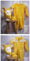 COLLAB: Kero-Chan baby outfit by taeliac