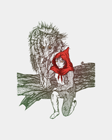 Arya Stark as the Little Red Riding Hood by adkind