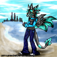 Down By The Sea by Lavender-Lavy