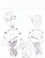 Jetfire, Jetstorm, and Scout by EllaScout