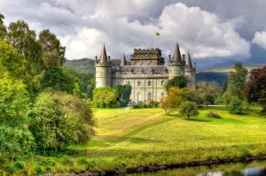 Inverary Castle by LogoPad