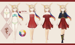 Spectra : Outfit Concept by K0ii