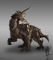 Creature concept 004 by NightmareGK13