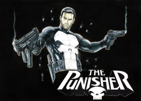 Punisher Black by Thegerjoos