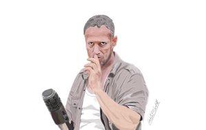 Merle Dixon from The Walking Dead by Gotchabad