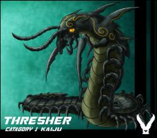 Kaiju Thresher complete by zeiram0034