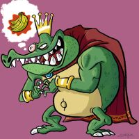 King K Rool by GarlicHERO