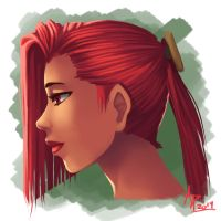 Red hair by ParSujera