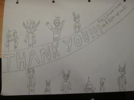 Thank you for 130 Watchers!!! by linkhead2
