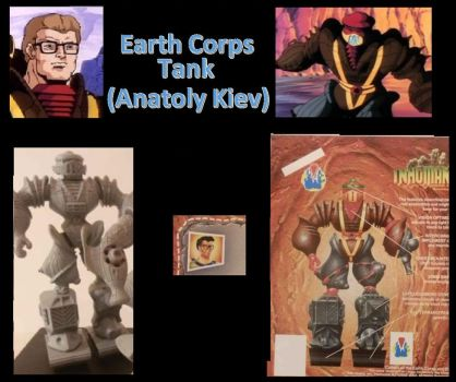 Tank Earth Corps Inhumanoids by Coptur