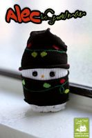 Alec the Snowman by cleody