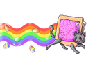 A Very Nyan Cat Easter by saintpink