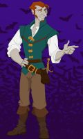 Halloween 2012 : Finn as Flynn Rider by TheLastUnicorn1985