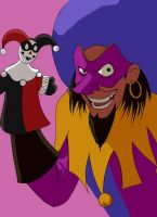 Clopin with a certain puppet by thenumber42