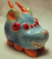 Clay Creature Thingy by stopthinkmove