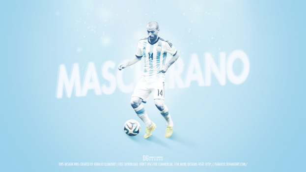 Javier Mascherano Wallpaper by ignaxxx