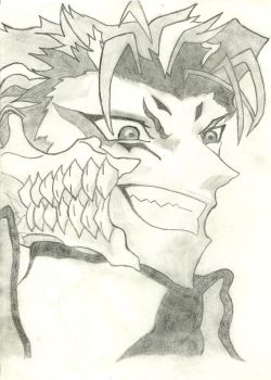Grimmjow by hellokittyisrawesome