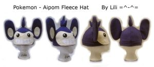 Aipom Hat by LiliNeko