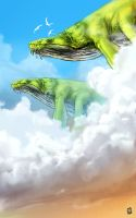 flying giants by Kamina1978