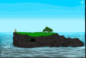 Island Commision for AK II by TigresToku