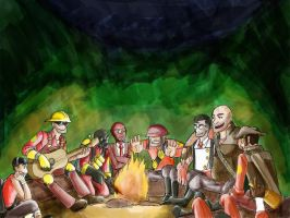 Campfire Stories Red Version by kytri