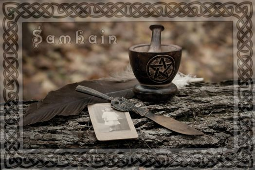 Samhain Greeting card ver.1 by cezare-me