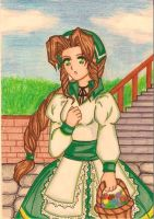 Aerith Final Fantasy Tactics version by dagga19 by dagga19