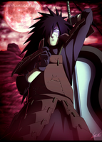 Uchiha Madara - Thanks for 200.000 Pageviews by LiderAlianzaShinobi