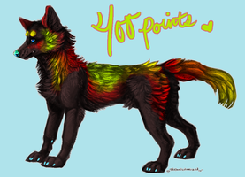 point adopt or pay pal adopt by Technicolorized