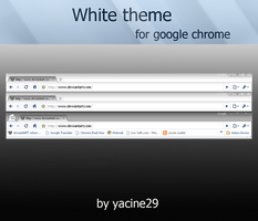 White theme for chrome by yacine29