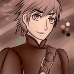 100 Colour Pallete Challenge: Hiccup, Pallete 96 by kuraikitsune13