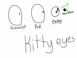 Kitty eyes by BlazeTheSwagger998
