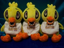 Five Nights at Freddy's Chica Plush! by PollyRockets