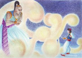 Aladdin and the jinny by LauraMel