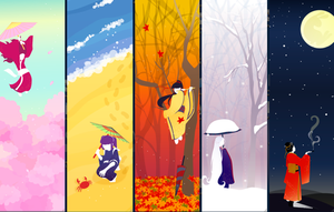 seasons by merumori