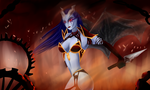 Dota 2: Queen Of Pain by artistYah