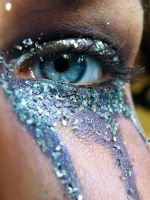 Purple Eye Glitter II by music-lover-stock
