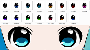 Cuty Dark Eye Pack by Arlymone