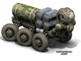 SUPPLY VEHICLE by CUTANGUS