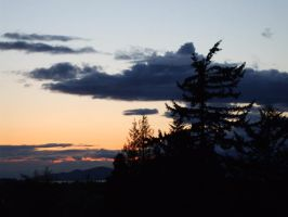 sunset at QE park by humanthistime