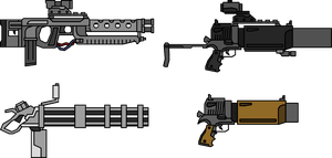 Weapon Edit Pack #2 by NeoMetalSonic360