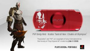 Deep Red Kratos - AD - PSP by iFab
