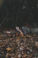 We are dying with falling leaves by NataliaDrepina
