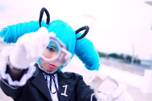 Secret Police, H.Miku: Under Arrest by cure-pain