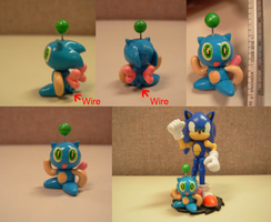 Sculpey: Sonic Chao by SaturnGrl